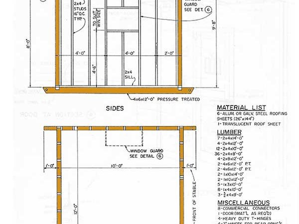 Gor Topic Storage Shed Plans