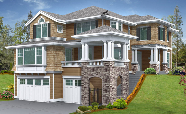 Gramercy Place Craftsman Home Plan House Plans