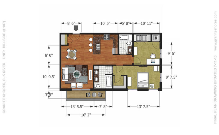 Granite Shores Floor Plans