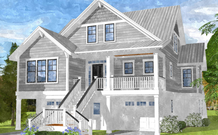 Gray Bay Cottage Coastal Home Plans
