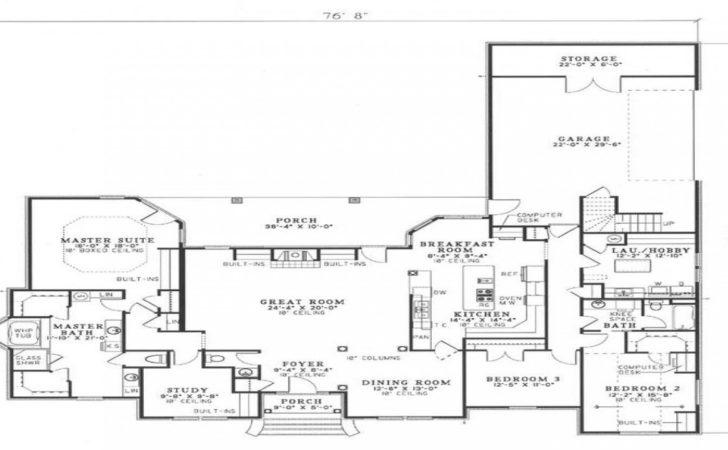 Great House Plans Shaped Plot
