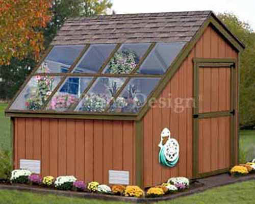Greenhouse Nursery Garden Structures Shed Plans