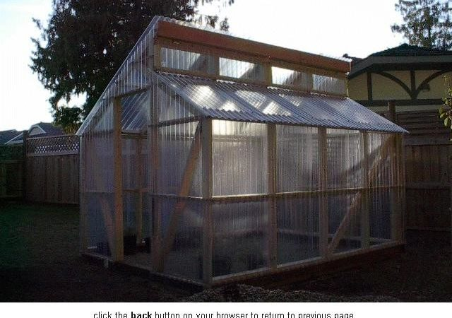 Greenhouse Shed Plans Outdoor Storage