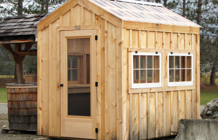 Greenhouse Shed Plans Wooden Kits Prefab