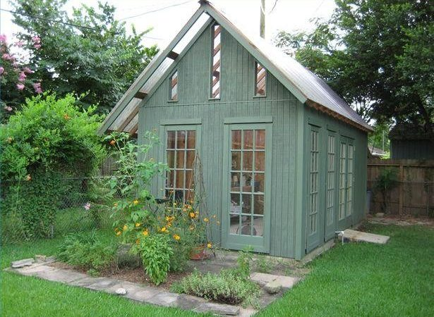 Greenhouse Storage Shed Plans Building