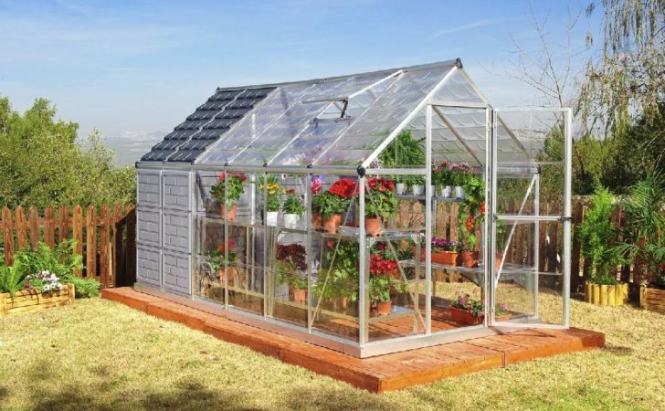 Grow Store Greenhouse Storage Shed