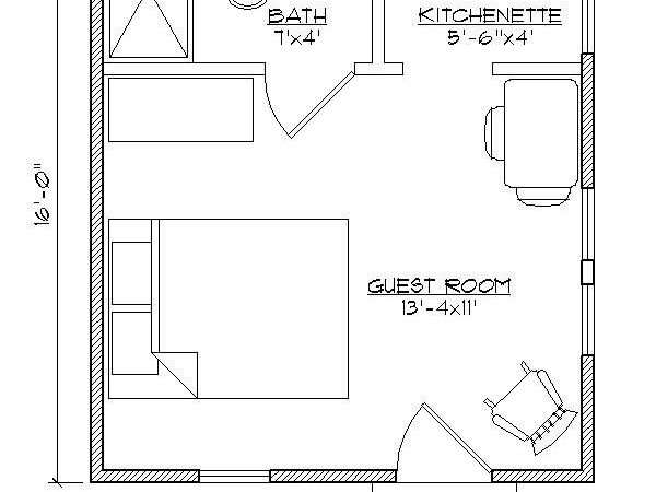 Guest House Floor Plans Houses Flooring Ideas