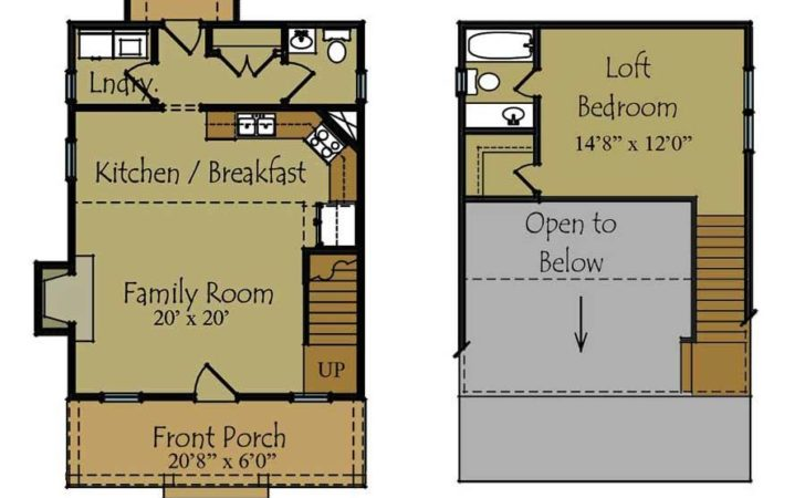 Guest House Plans Designs Cottage