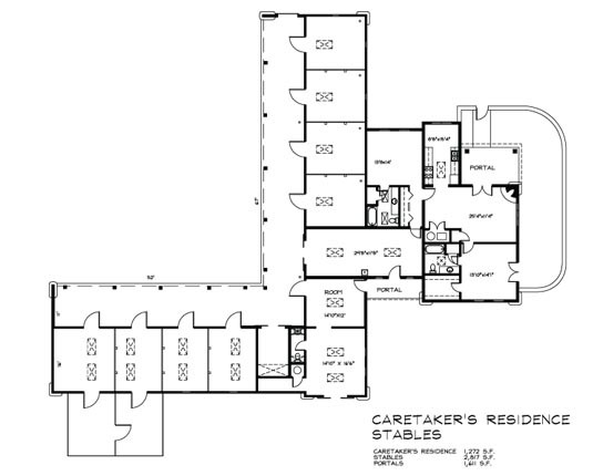 Guest House Plans Square Feet Cottage