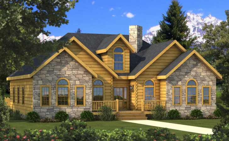 Halifax Log Home Plan Southland Homes Mywoodhome