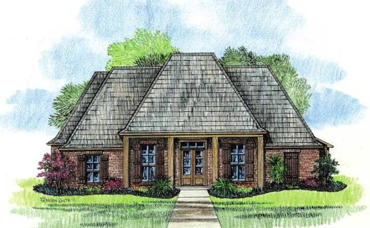 Hammond Louisiana House Plans Country French Home