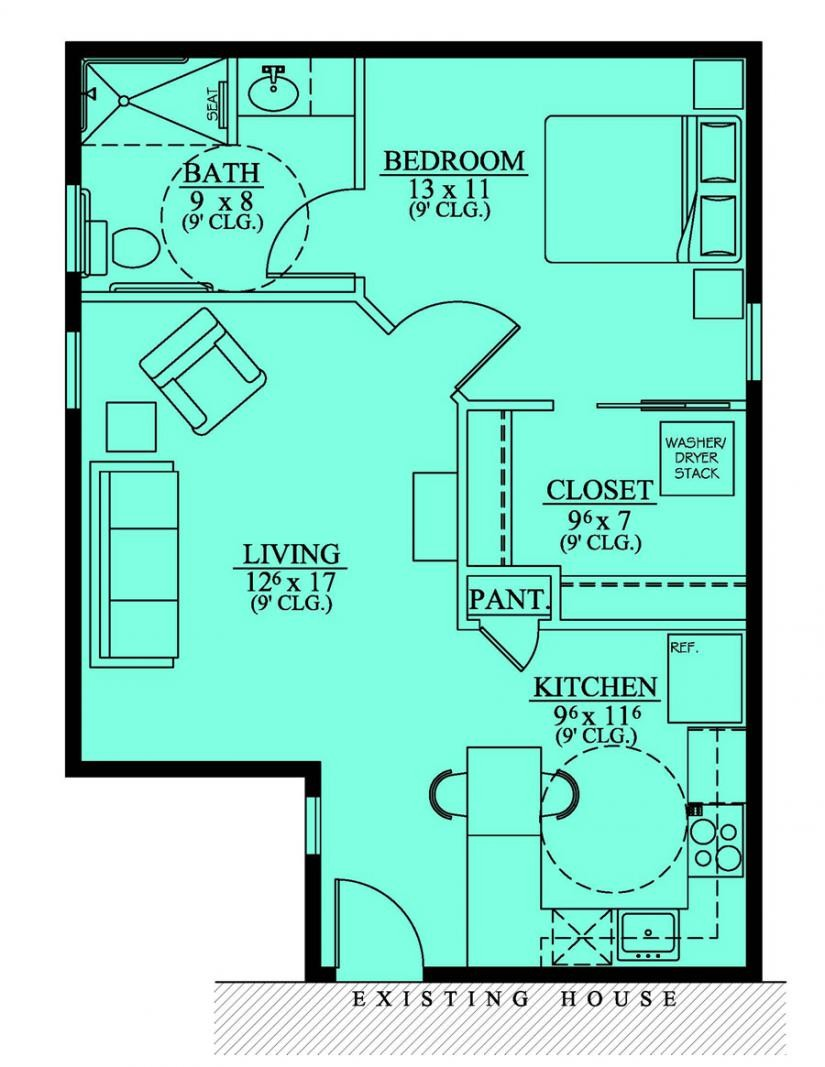 Handicap Accessible Mother Law Suite House