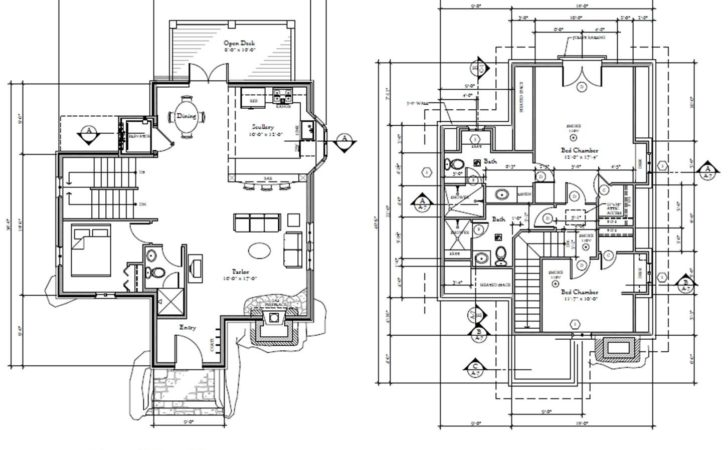 Harmonious Storybook Floor Plans House