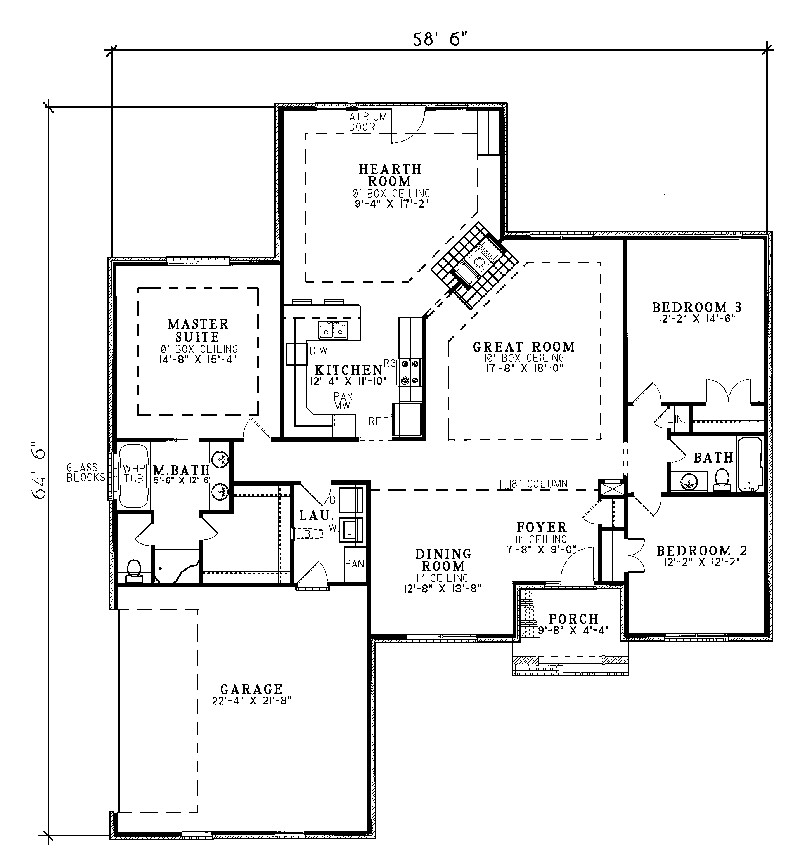 Harrahill Traditional Home Plan House Plans