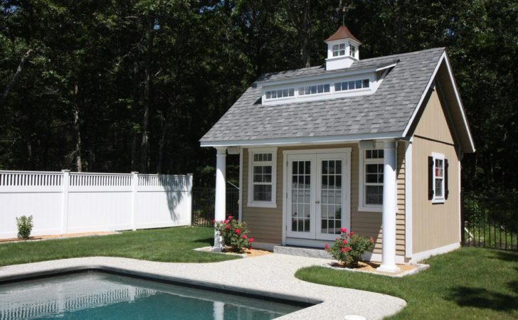 Heritage Pool House Pleasant Run Structures