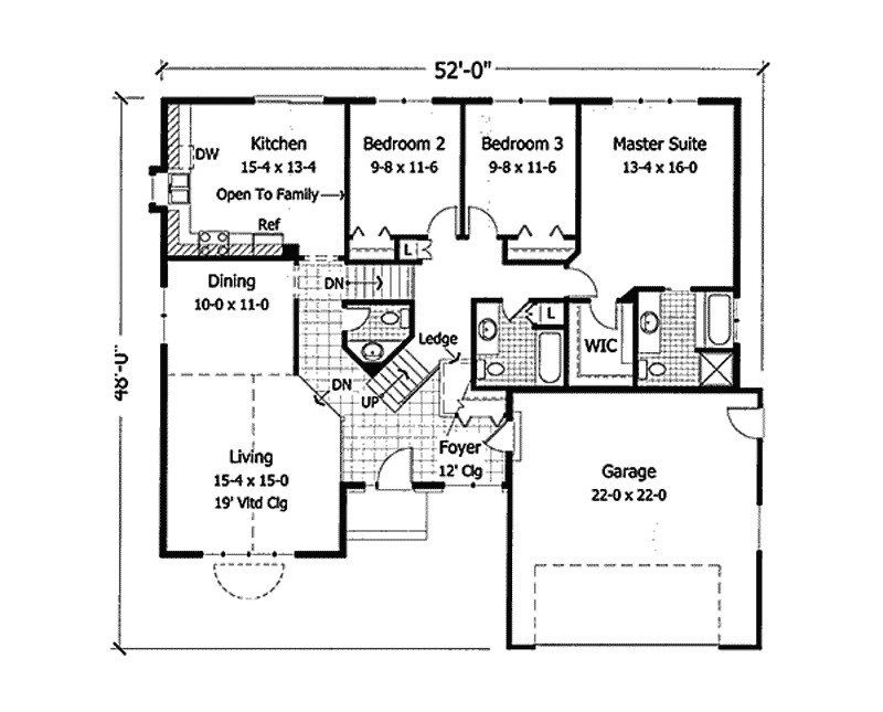 Herriman Modern Ranch Home Plan House Plans