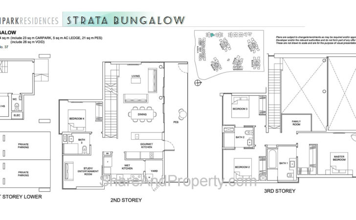 High Park Residences Floor Plan Landed House Strata