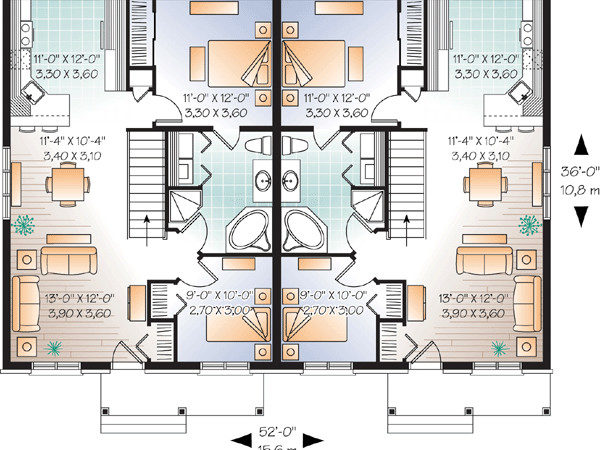 High Quality Multi Home Plans House