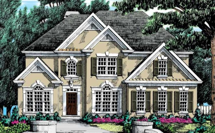 High Quality New American Home Plans House