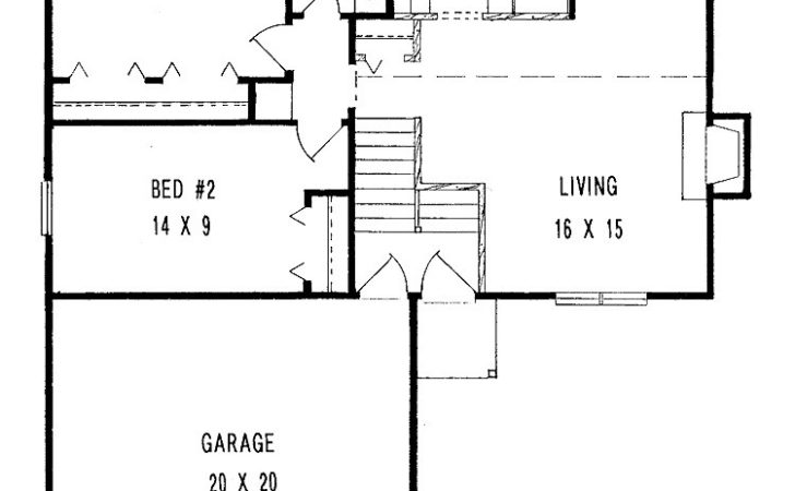 High Small House Plans Garage Simple