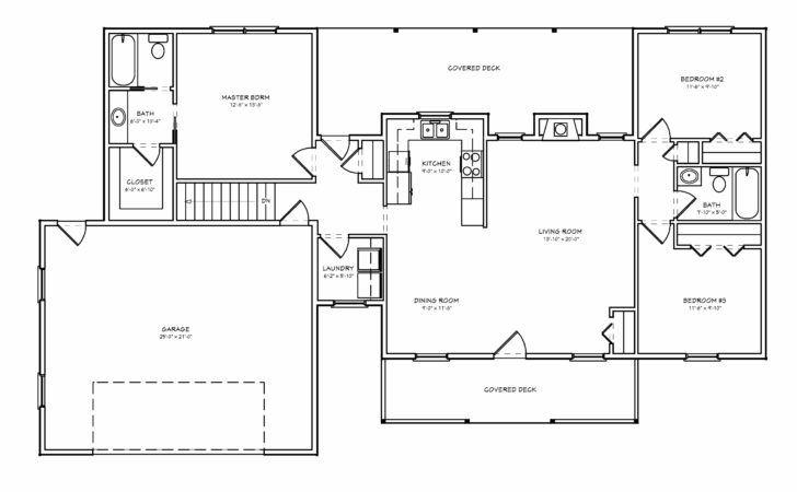 High Small Ranch Style House Plans