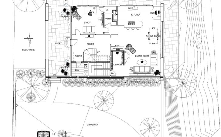 Hillside House Plans Modern