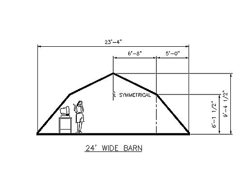 Hip Roof Barn Designs Car Shed Plansyourplans
