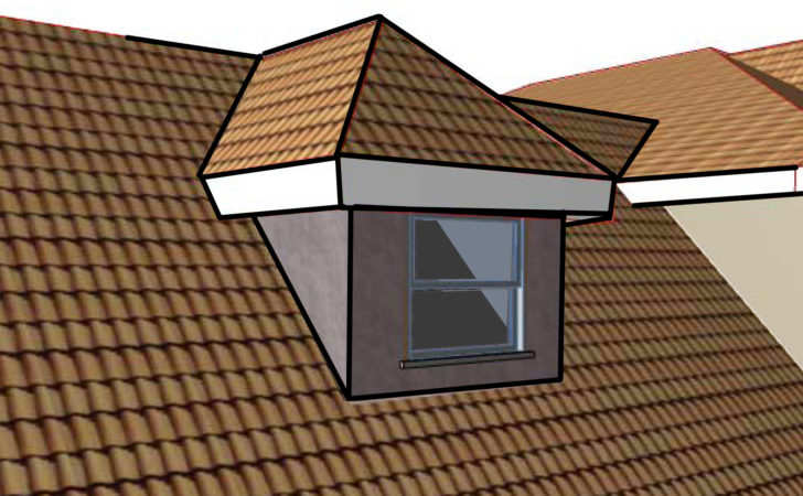 Hip Roof Dormer Wikimedia Commons