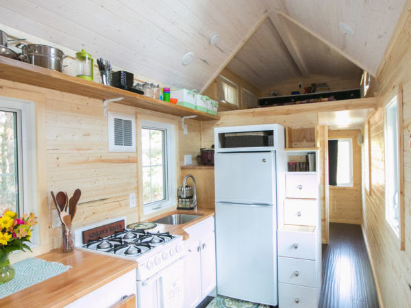 Hogan Tiny House Interview Tour