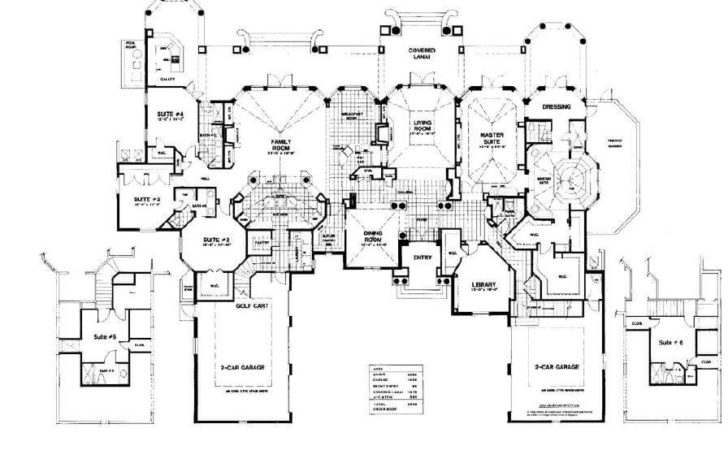 Home Decor Modern Mansion Blueprints