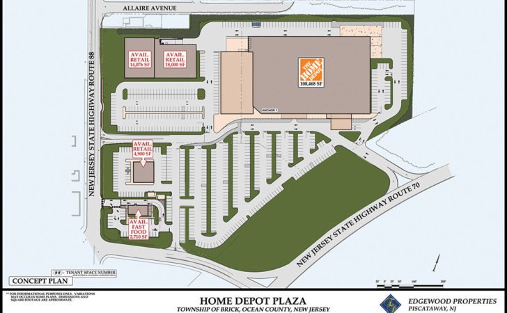 Home Depot Plaza Commercial Property Edgewood Properties