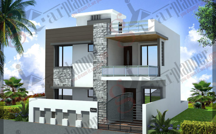 Home Design Duplex House Plans Floor Ghar