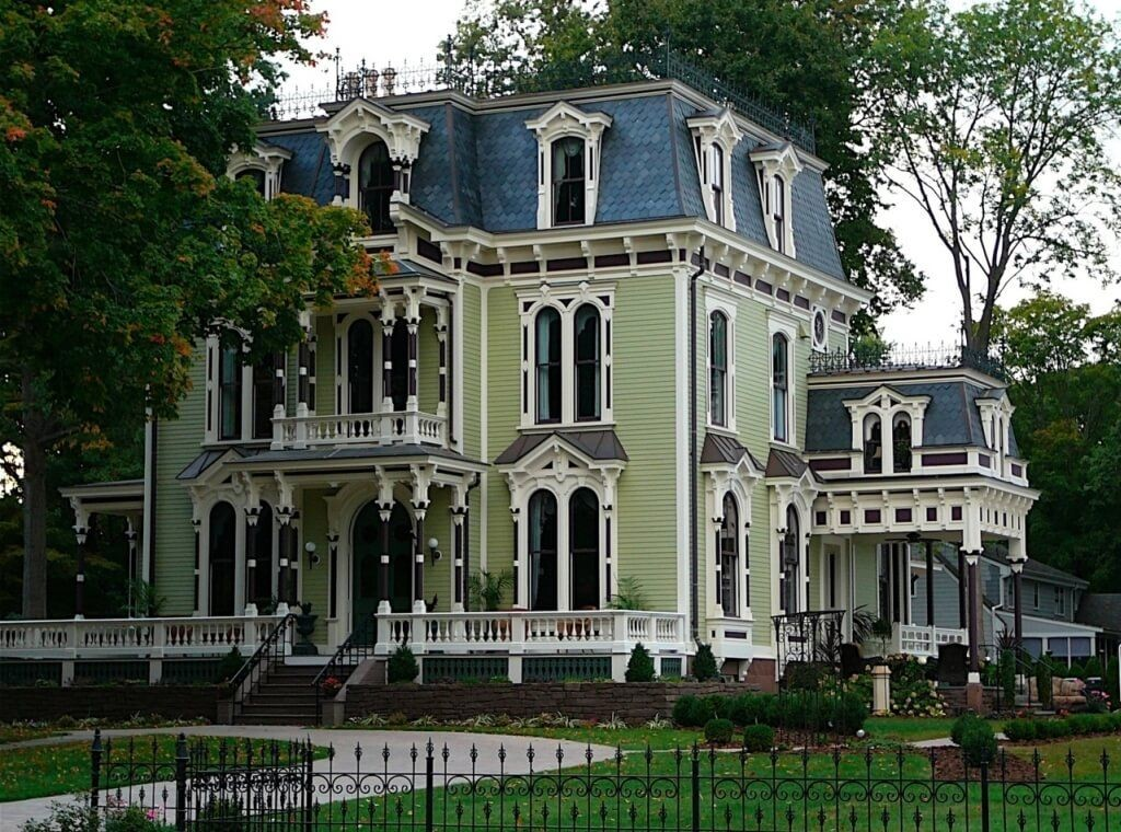 Home Design Fabulous Victorian Style House Ideas