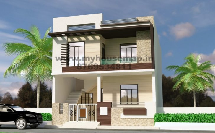 Home Design Ideas Front Elevation House Map