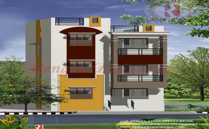 Home Design Indian House Apartment Designs