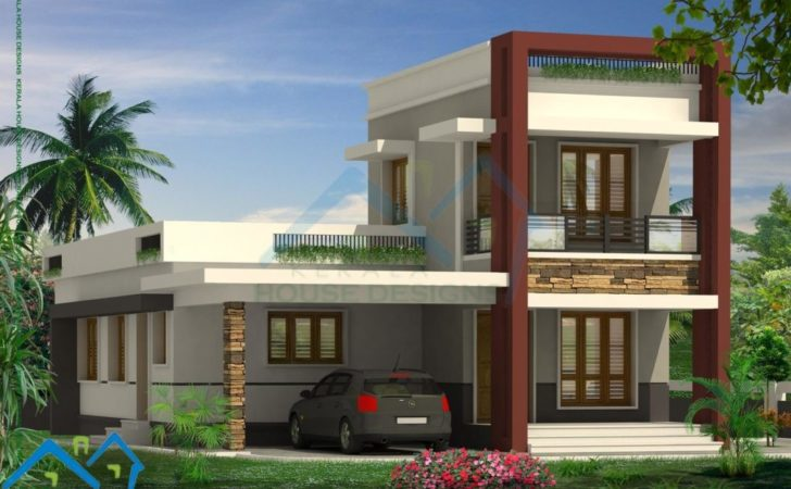 Home Design Low Budget Modern Villas Elevations