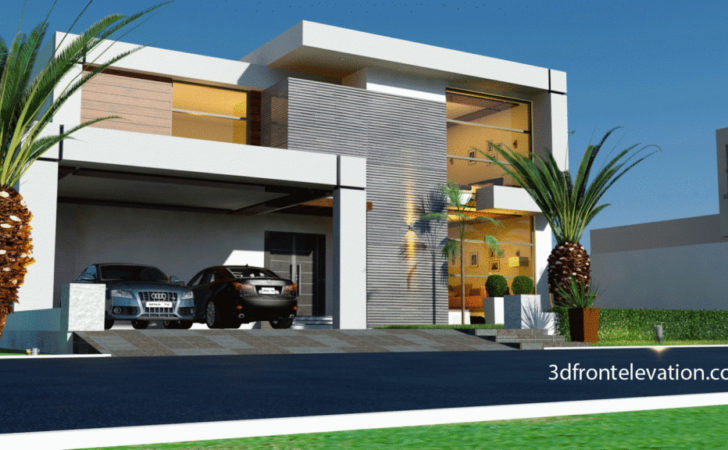 Home Design Model Contemporary Front House