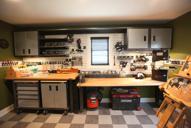 Home Garage Workshop Racedeck Flooring Wall