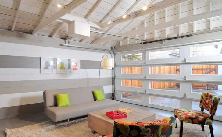 Home Garages Transformed Into Beautiful Living Spaces