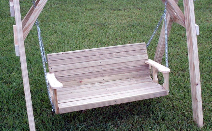 Home Ideas Building Plans Porch Swing Frame