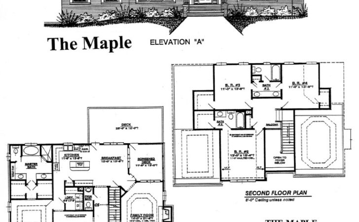 Home Plan Center Maple