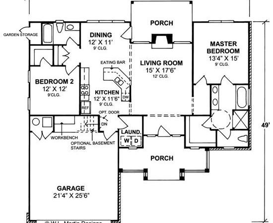Home Plan Collection Wheelchair Accessible House