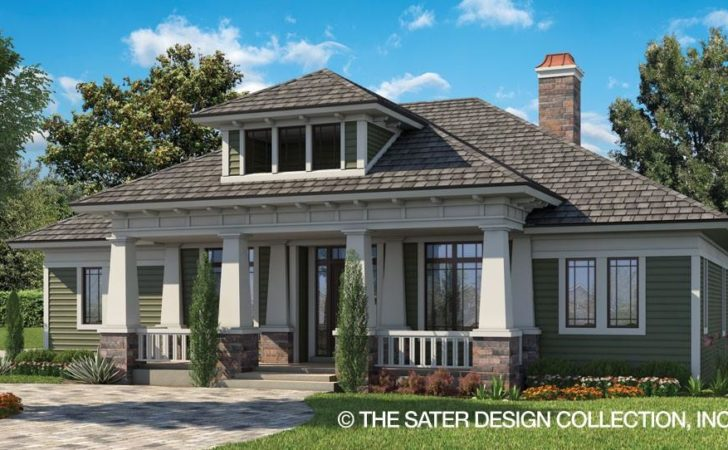 Home Plan Glenfield Sater Design Collection