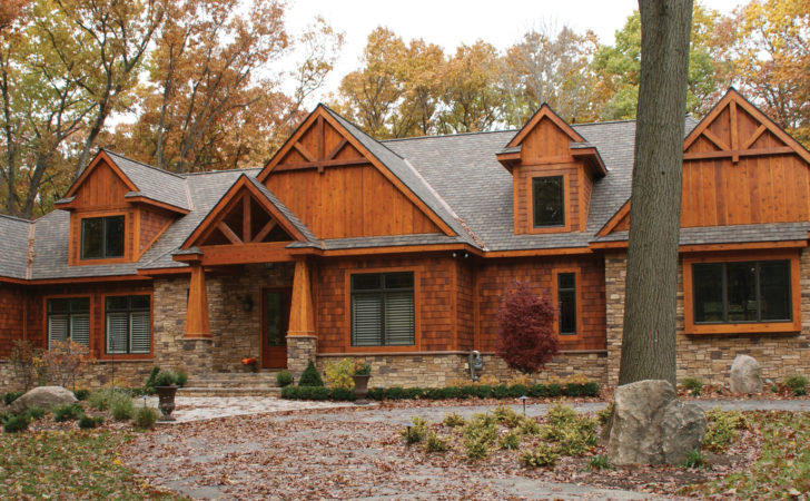 Home Plan Rustic Craftsman Startribune