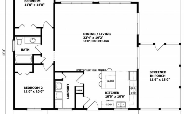 Home Plans Canadian House Floor