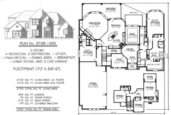 Home Plans Master Suites House Bedroom