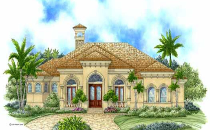 Home Story Luxury Mediterranean House Plans One
