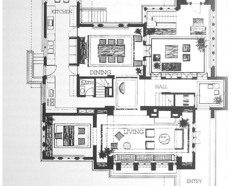 House Above All Plans Floor