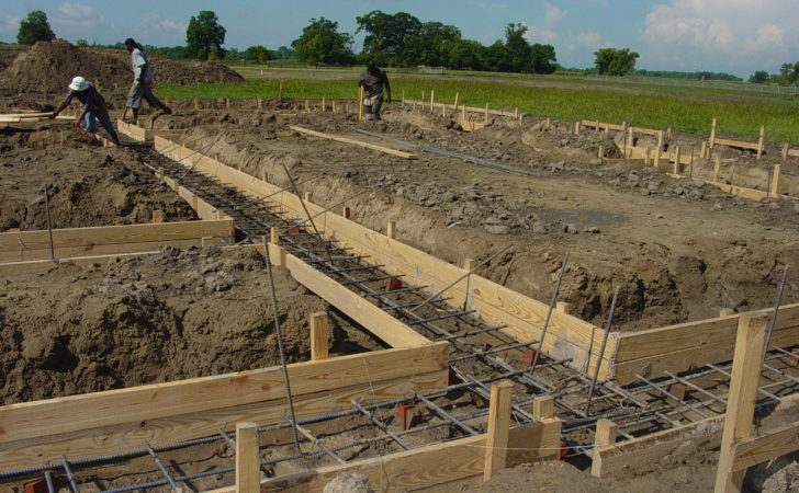 House Construction Foundation