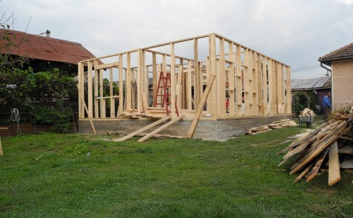 House Construction Time Lapse Wooden Frame Youtube